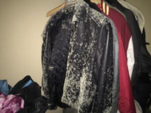 Humidity Inducted Mold Growth on clothing